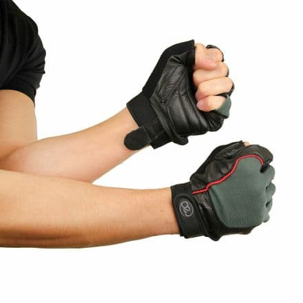 Fitness Mad Cross Training Gloves Weights Lifting